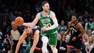 Gordon Hayward jugando con los Boston Celtics