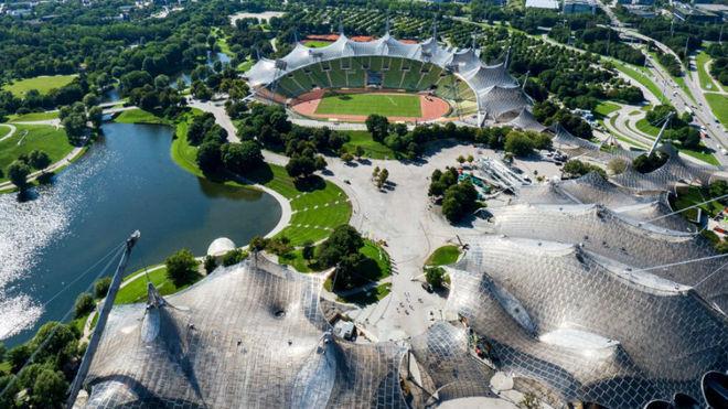 El Parque Olímpico de Múnich.
