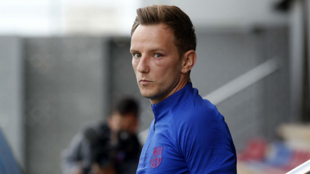 Ivan Rakitic has started just once this season