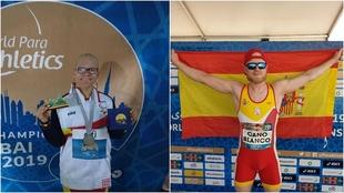 Adiaratou Iglesias e Ivan Cano, los medallistas de la sexta jornada de...