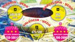 ¿Cuánto le cuesta a un aficionado español acudir a la Supercopa de España en Yeda?