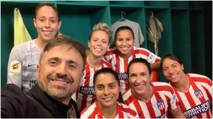 José Mota junto a Gallardo, Amanda, Santos, Robles, Meseguer y...