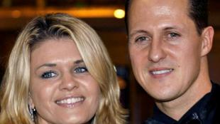 Corinna y Michael Schumacher.