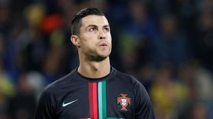 Cristiano Ronaldo con Portugal