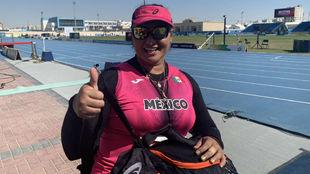 Ángeles desde el Mundial de Para Atletismo de Dubai