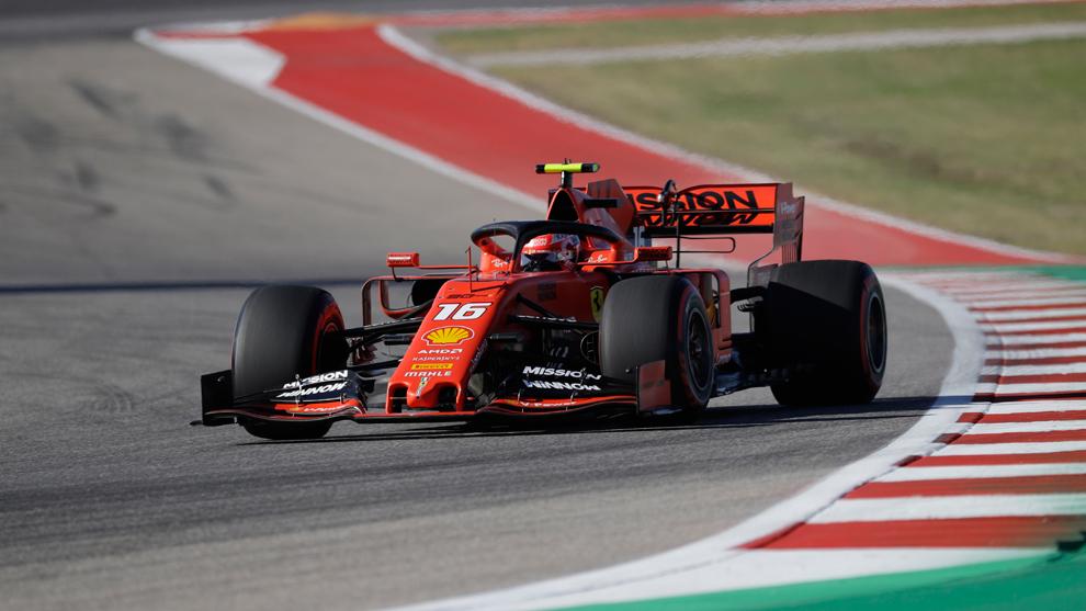Informe: El nuevo motor para Leclerc puede incluir piezas 2020