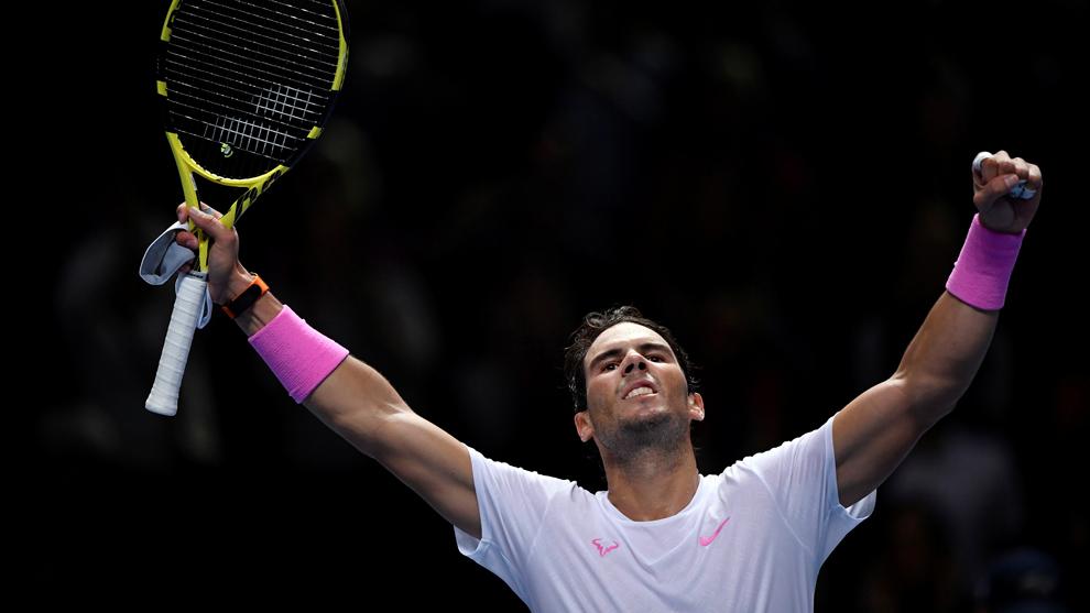 Rafael Nadal sufre ante Medvedev.