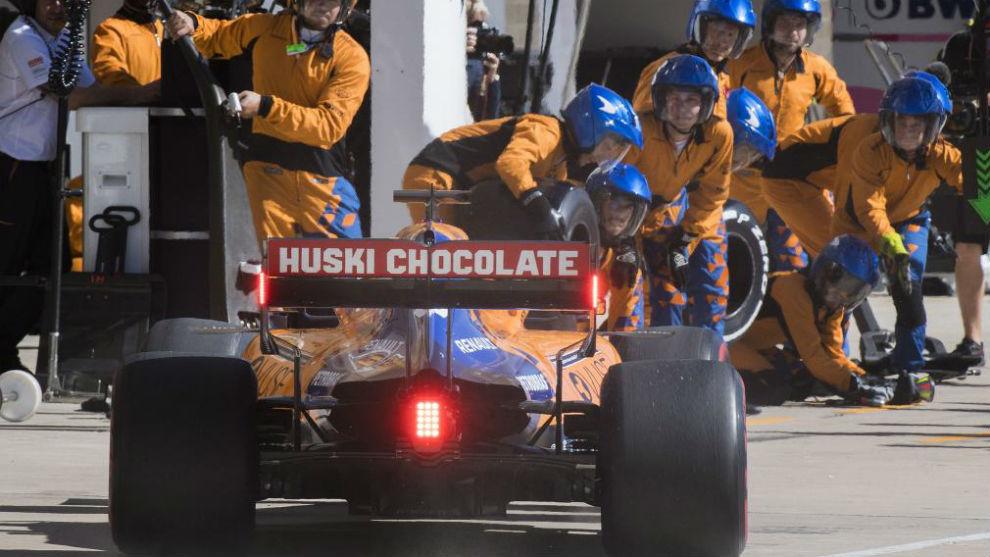 Fórmula 1: el insólito blooper de Ferrari se robó todas las miradas en el Gran Premio de Brasil