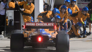 Sainz, en el pasado GP de Estados Unidos.