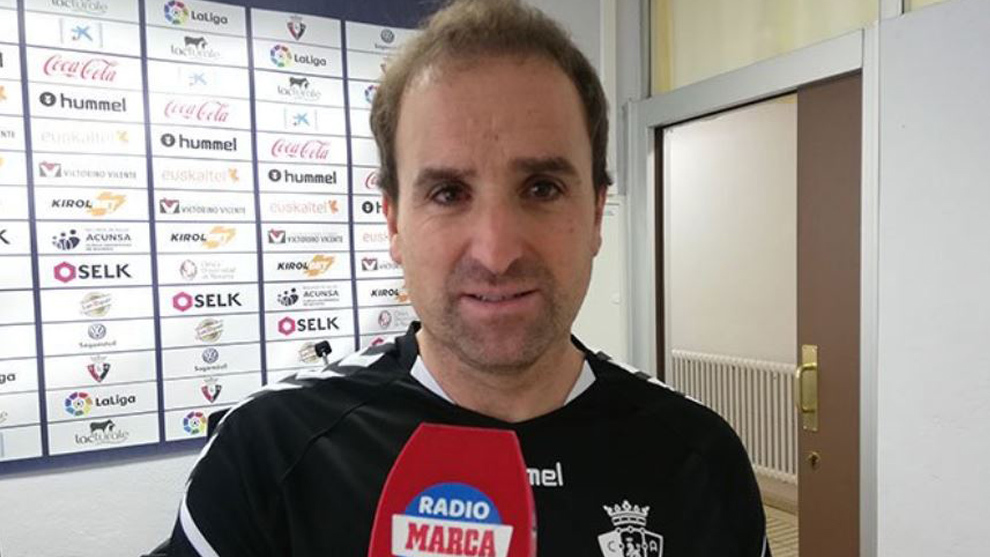 Jagoba Arrasate speaks with Radio MARCA Navarra