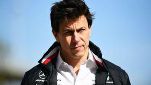 Toto Wolff, CEO de Mercedes AMG F1.