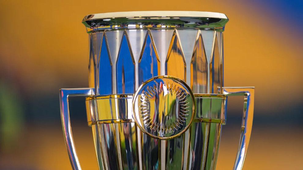 El trofeo de la Concachampions