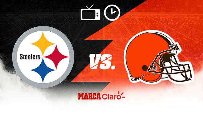 Steelers vs Browns: Horario y dónde ver