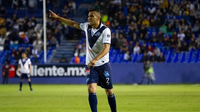 Daniel Cervantes, durante el partido ante Tampico Madero.