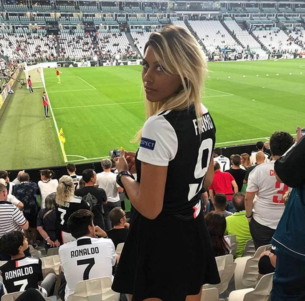 Francesca Tajé, la aficionada viral de la Juventus por una toma de televisión