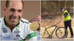 Kieran Modra fue pentacampeón paralímpico de ciclismo