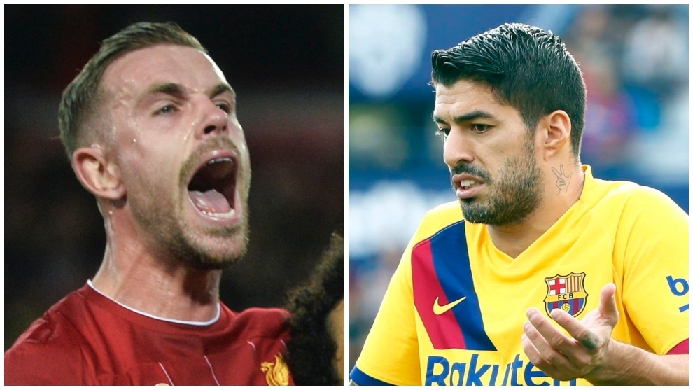 Jordan Henderson reveals bust-up with Luis Suarez in Liverpool training