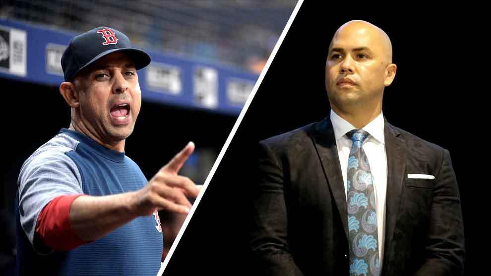 Mlb Grandes Ligas Beisbol Carlos Beltran Y Alex Cora