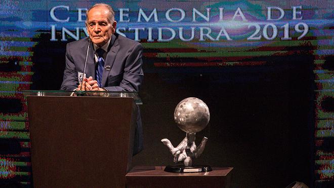 Tómas Balcazá, miembro del Salón de la Fama.