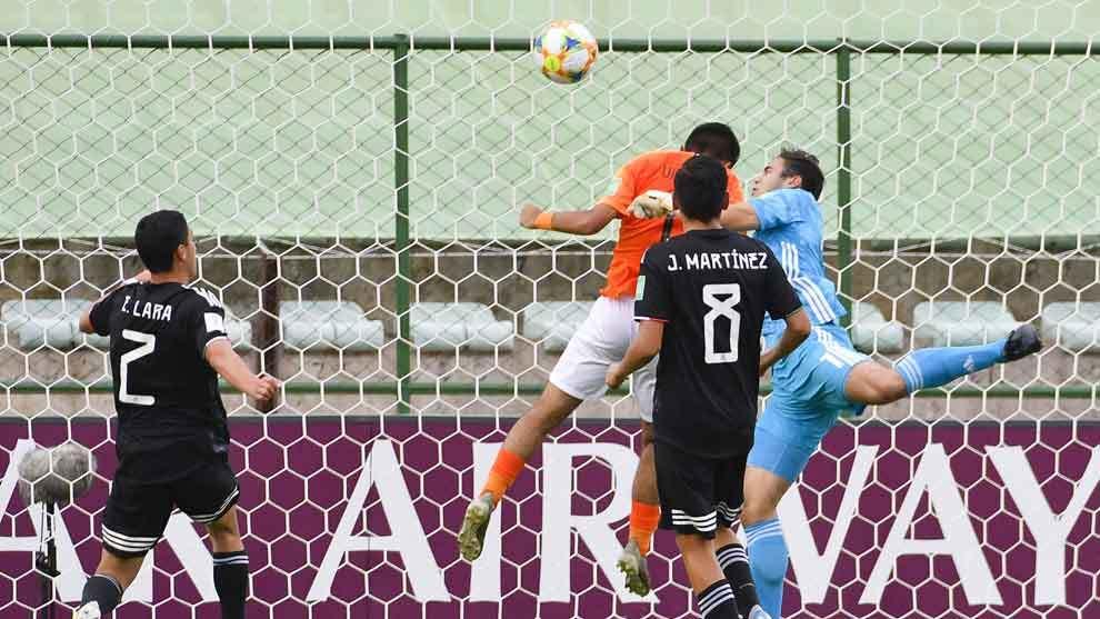 Gol anulado de Holanda