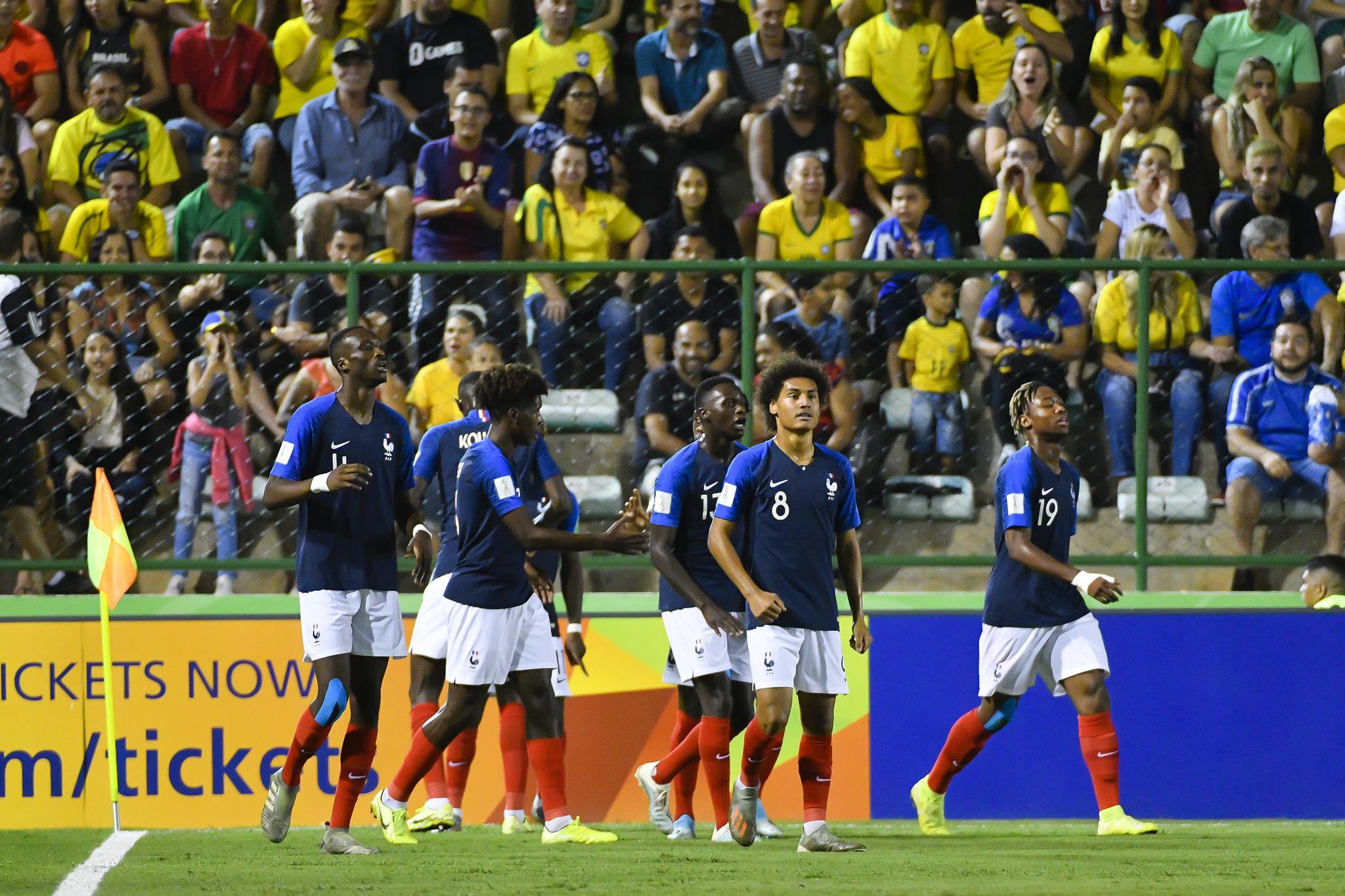 brasil vs francia sub 17