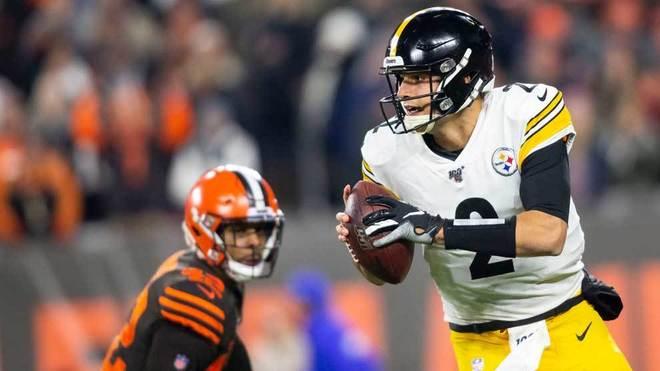 Negra noche para los Steelers ante los Browns.