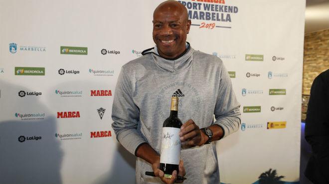 Mike Powell, en el MARCA Sport Weekend