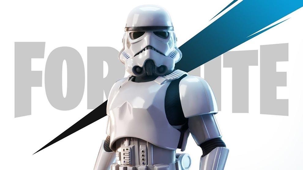 Fortnite ofrece una skin de Stormtrooper a los que hayan comprado el...