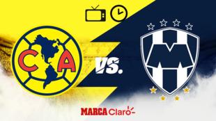 América vs Monterrey, horario y dónde ver.