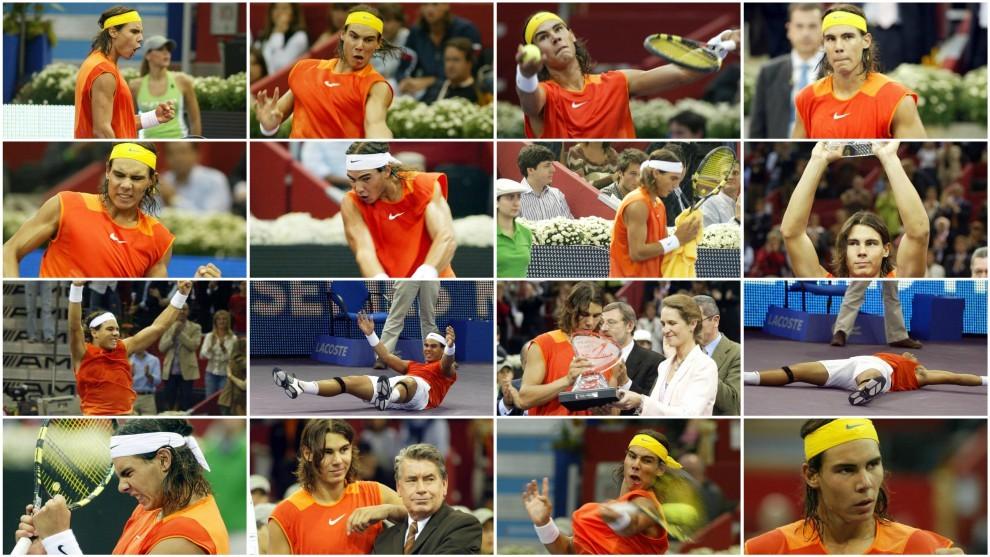 Algunas imágenes de la final de Madrid 2005