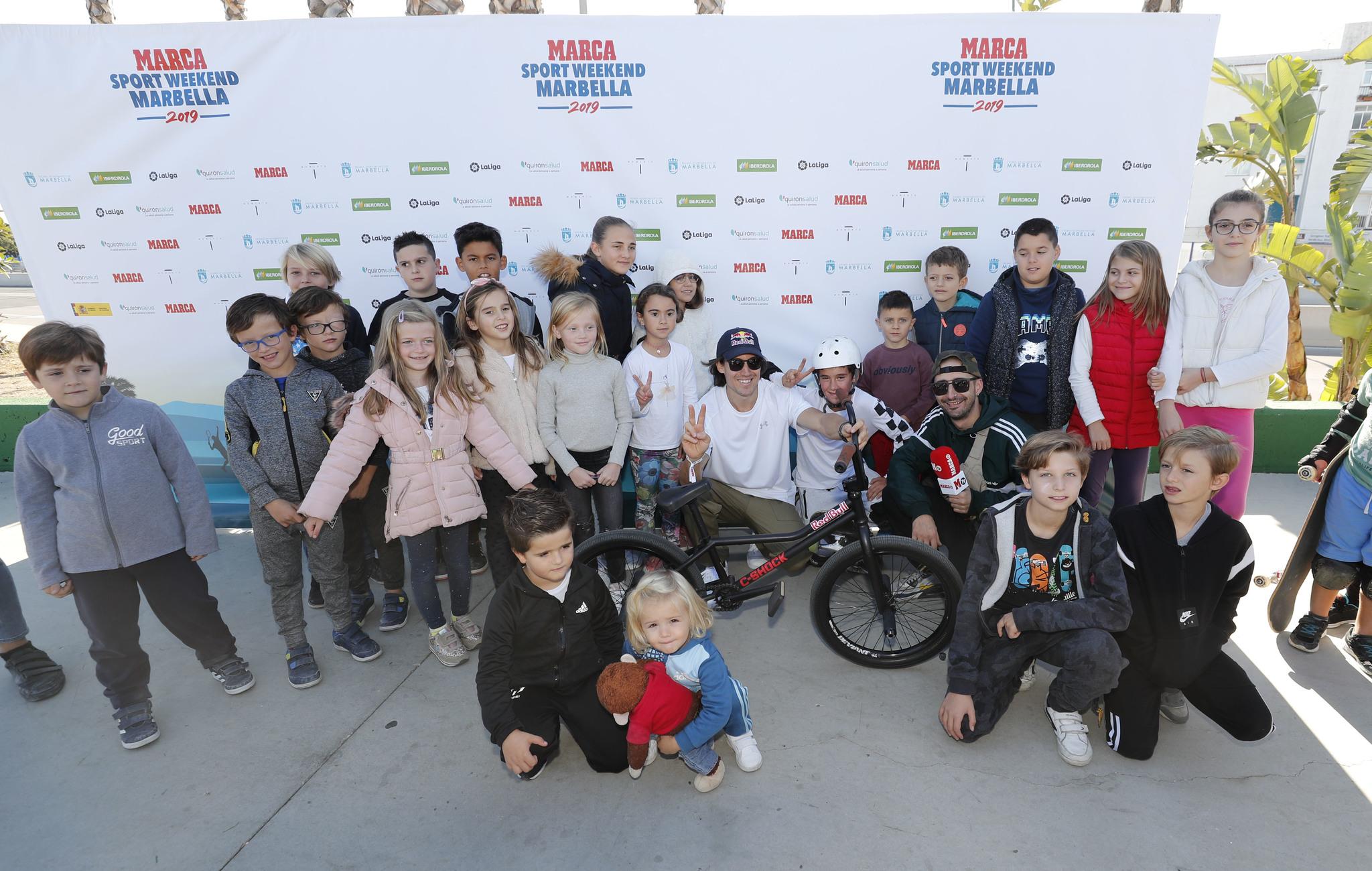 <HIT>MARCA</HIT> SPORT WEEKEND EN MARBELLA, BMX Y SKATE EN SAN PEDRO DE ALCANTARA