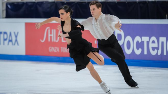 Sara Hurtado y Kirill Jalyavin durante la presentación