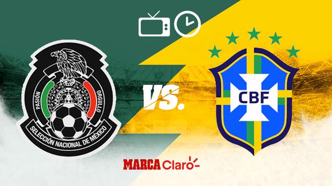 México vs Brasil, horario y dónde ver