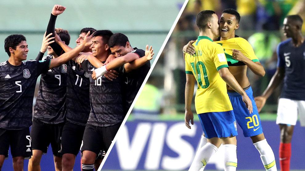 México y Brasil, por el título del Mundial sub 17