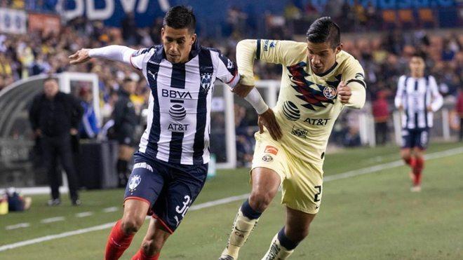 Monterrey le anotó dos goles en cinco minutos al América.