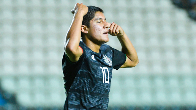 Israel Luna suma dos goles en el torneo.