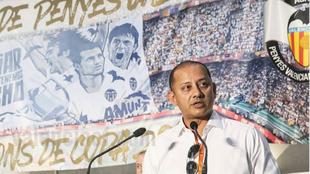 Anil Murthy, en la última convención de Peñas Valencianistas en...