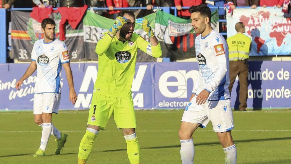 Dani Giménez y Álex Bergantinos, en la derrota frente al...