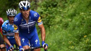 Philippe Gilbert, en el Critérium Dauphine.