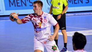 El jugador croata del Ademar Lucin /