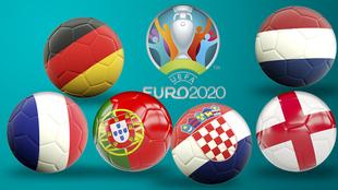 Así está la fase de clasificación para la Eurocopa.