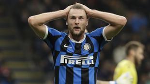 Milan Skriniar ha destacado en la vigente temporada con el Inter.