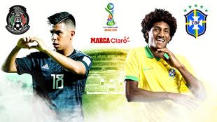 México vs Brasil, en vivo minuto a minuto.