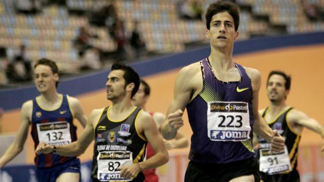 Luis Alberto Marco se impone en los 800 metros del Campeonato de...
