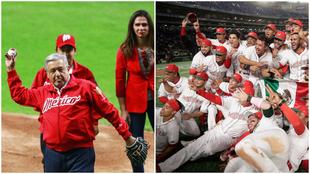 AMLO felicita a la selección mexicana de béisbol.