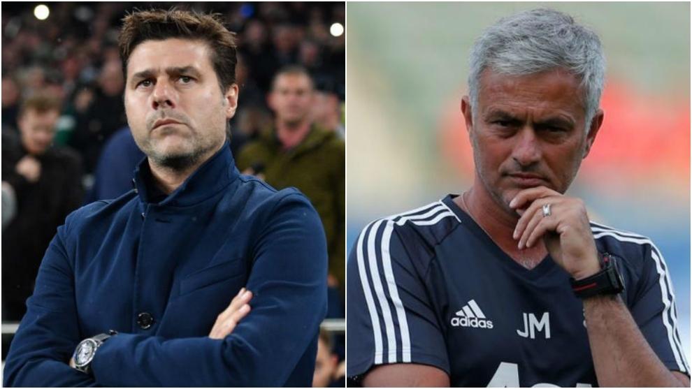 Pochettino y Mourinho, duda en el futuro del banquillo del Tottenham