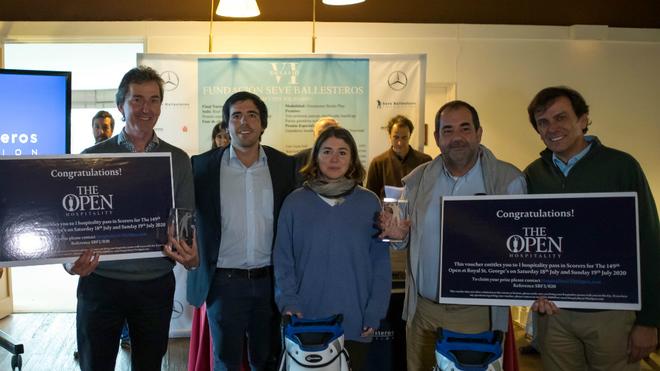 Francisco Javier García Cutrín y Manuel López Silva reciben el...