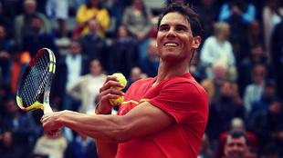 Rafa Nadal, actual número 1 del ránking de la ATP, será el líder...