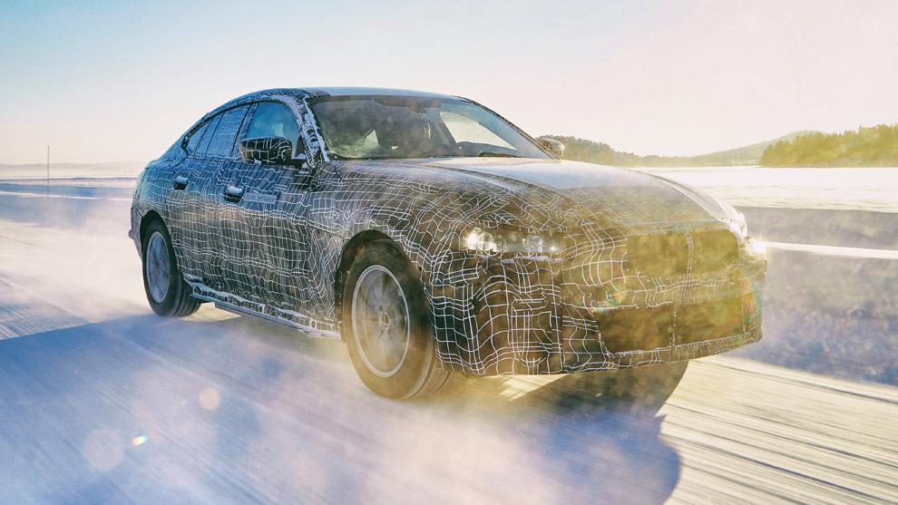 BMW muestra el i4, su Gran Coupé eléctrico para la gama media