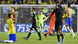 La selección mexicana sub 17 cayó ante Brasil